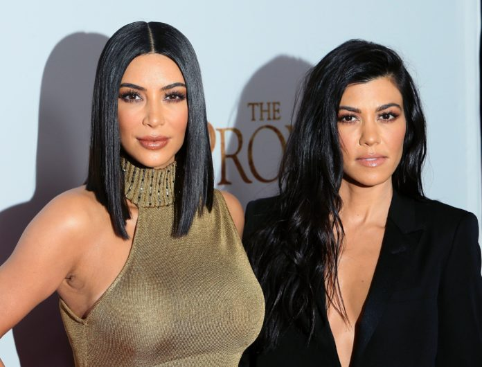 Kim & Kourtney Kardashian BRAWL In New 'KUWTK' Trailer!